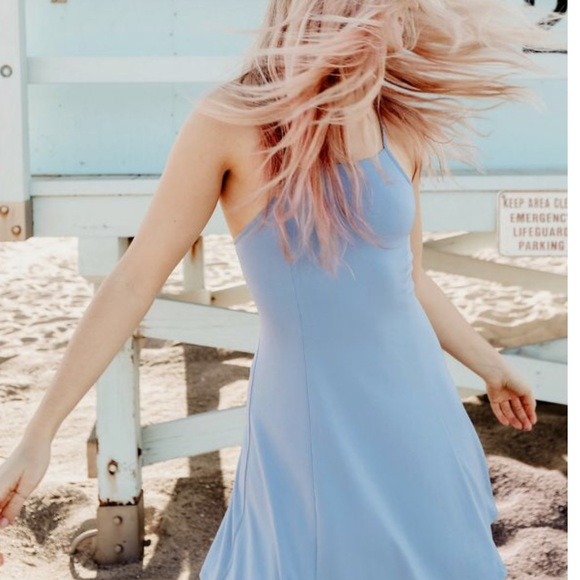 Urban Outfitters Dresses & Skirts - Lace Up Swing Dress